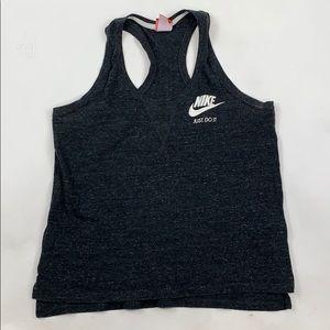 Nike Gray Racerback Tank